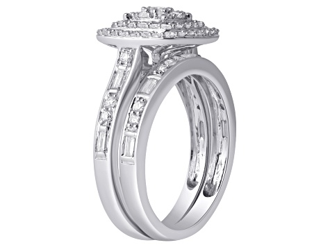 White Gold 10k White Gold Ring 1.00ctw