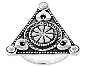 Global Destinations™  Sterling Silver Statement Ring