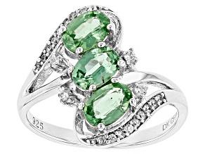 Mint Kyanite Sterling Silver Ring 1.64ctw