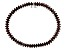 Red Garnet Sterling Silver Tennis Bracelet 9.10ctw