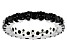 Black Spinel Sterling Silver Eternity Band 2.50ctw