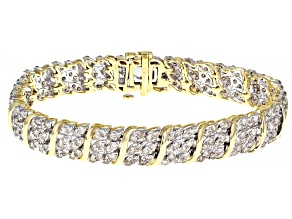 Candlelight Diamonds™ 10k Yellow Gold Bracelet 8.00ctw
