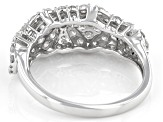White Diamond 10k White Gold Ring 1.00ctw