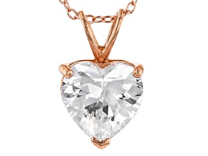 Bella Luce® 5.35ct Diamond Simulant 18k Gold Over Silver Pendant With Chain