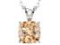 Bella Luce® 3.50ct Champagne Diamond Simulant Silver Pendant With Chain