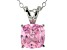 Bella Luce® 2.66ct Diamond Simulant Rhodium Over Silver Pendant With Chain