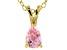 Bella Luce® .63ct Diamond Simulant 18k Gold Over Silver Pendant With Chain