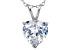 Bella Luce® 4.56ct Diamond Simulant Rhodium Over Silver Pendant With Chain