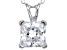 Bella Luce® 2.60ct Diamond Simulant Rhodium Over Silver Pendant With Chain