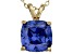 Bella Luce® 5.04ct Tanzanite Simulant 18k Gold Over Silver Pendant With Chain