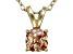Bella Luce® .99ct Diamond Simulant 18k Over Silver Pendant With Chain