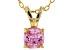 Bella Luce® .99ct Diamond Simulant 18k Gold Over Silver Pendant With Chain