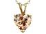 Bella Luce® 4.40ct Diamond Simulant 18k Gold Over Silver Pendant With Chain