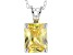 Bella Luce® 3.77ct Yellow Diamond Simulant Silver Pendant With Chain