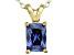 Bella Luce® 1.46ct Tanzanite Simulant 18k Gold Over Silver Pendant With Chain