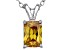 Bella Luce® 1.49ct Yellow Diamond Simulant Silver Pendant With Chain