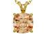 Bella Luce® 5.20ct Diamond Simulant 18k Over Silver Pendant With Chain