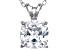 Bella Luce® 3.47ct Diamond Simulant Rhodium Over Silverpendant With Chain