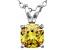 Bella Luce® 1.56ct Yellow Diamond Simulant Silver Pendant With Chain