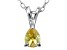 Bella Luce® .44ct Diamond Simulant Rhodium Over Silver Pendant With Chain