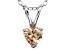 Bella Luce® .76ct Diamond Simulant Rhodium Over Silver Pendant With Chain