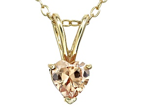 Bella Luce® .76ct Diamond Simulant 18k Gold Over Silver Pendant With Chain