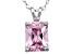 Bella Luce® 3.60ct Diamond Simulant Rhodium Over Silver Pendant With Chain