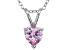 Bella Luce® 1.35ct Diamond Simulant Rhodium Over Silver Pendant With Chain