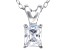 Bella Luce® .64ct Diamond Simulant Rhodium Over Silver Pendant With Chain