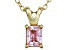 Bella Luce® .69ct Diamond Simulant 18k Gold Over Silver Pendant With Chain