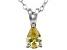 Bella Luce® .61ct Diamond Simulant Rhodium Over Silver Pendant With Chain