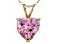 Bella Luce® 6.00ct Diamond Simulant 18k Gold Over Silver Pendant With Chain