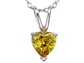 Bella Luce® 1.37ct Diamond Simulant Rhodium Over Silver Pendant With Chain