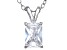 Bella Luce® 1.50ct Diamond Simulant Rhodium Over Silver Pendant With Chain