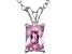 Bella Luce® 1.50ct Diamond Simulant Rhodium Over Silver Pendant With Chain