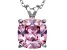 Bella Luce® 6.99ct Diamond Simulant Rhodium Over Silver Pendant With Chain