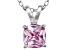 Bella Luce® 1.56ct Diamond Simulant Rhodium Over Silver Pendant With Chain