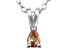 Bella Luce® .23ct Diamond Simulant Rhodium Over Silver Pendant With Chain