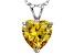 Bella Luce® 6.18ct Diamond Simulant Rhodium Over Silver Pendant With Chain