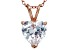 Bella Luce® 4.56ct Diamond Simulant 18k Gold Over Silver Pendant With Chain