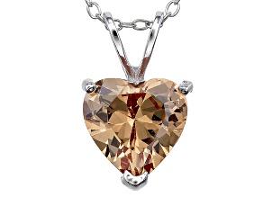 Bella Luce® 4.40ct Diamond Simulant Rhodium Over Silver Pendant With Chain
