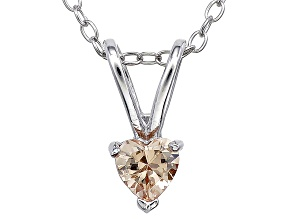 Bella Luce® .45ct Diamond Simulant Rhodium Over Silver Pendant With Chain