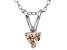 Bella Luce® .45ct Diamond Simulant Rhodium Over Silver Pendant With Chain