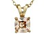 Bella Luce® 1.50ct Diamond Simulant 18k Over Silver Pendant With Chain