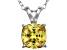 Bella Luce® 2.51ct Yellow Diamond Simulant Silver Pendant With Chain