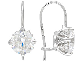 Womens Bella Luce 4.52ctw 7mm Round Cubic Zirconia Platineve ™ Earrings