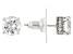 Cubic Zirconia Platineve Earrings 3.59ctw