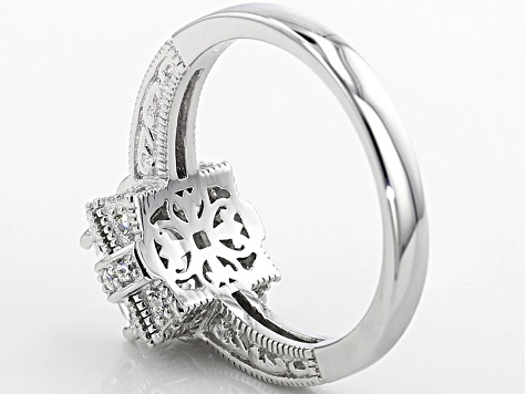 Vanna K ™ For Bella Luce ® 3.35ctw Platineve ™ Ring