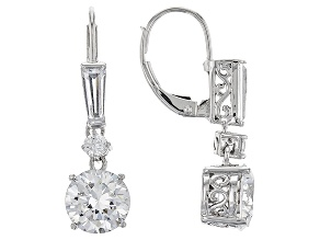Vanna K ™ For Bella Luce ® 7.30ctw Platineve ™ Earrings