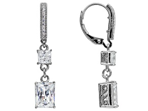 Vanna K ™ For Bella Luce ® 5.71ctw Platineve ™ Earrings